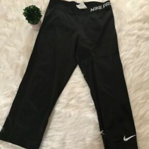 Nike Pro Sz Medium Blacking Leggings Pants